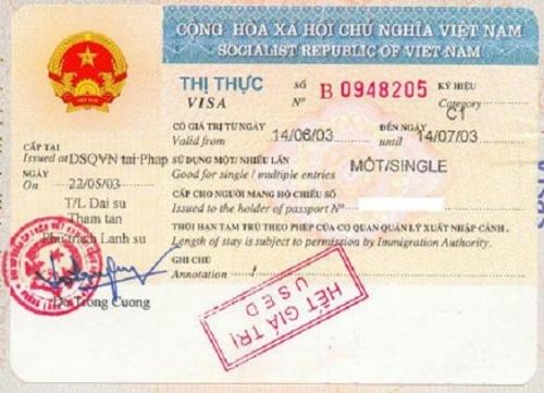 gia hạn visa bị quá hạn